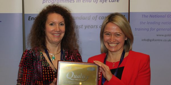 Whiteley House care home strikes platinum for quality care